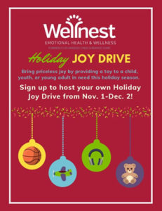 Wellnest Holiday Joy Drive 2019